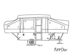 Cartoon Camper Images Google Search Camping Camper