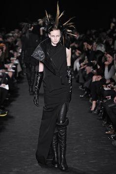 Ann Demeulemeester Runway 2012 Fall | POPSUGAR Fashion