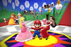 Mario with his original girlfriend Pauline. I wish that Mario get back with Pauline and left Peach forever. Rendered in MMD Content by Mario (C) N. Mario x Pauline kiss Super Mario Bros Games, Super Smash Bros Brawl, Super Mario Art, Super Mario Brothers, Mario And Princess Peach, Princess Daisy, Mario Bros., Mario And Luigi, Luigi And Daisy