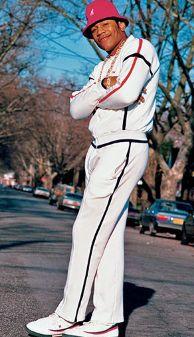 LL COOL J, RAPPER, 1980'S, 80'S STYLE, TRACKSUIT, COZY BOY, LUXURY FASHION