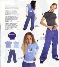 clothes 16 Things Teen Girls Wore In The Winter Of 1996 much interesting, very modeling. Early 2000s Fashion, 90s Fashion, Vintage Fashion, Fashion Outfits, Fashion Trends, Fashion Stores, Fashion Fall, Fashion 2017, Fashion Watches