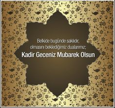 🌙Kadir Geceniz Mübarek Olsun Kartları 💚REKLAMSIZ💚 Allah, Cards Against Humanity, Olinda