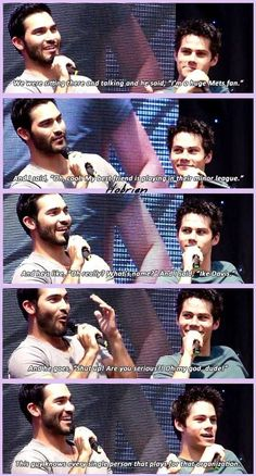 Dylan O´Brien and Tyler Hoechlin (Favorite Meme Guys)