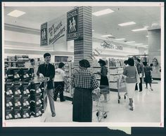 BS Photo BDR 074 Caldor's Department Store Maryland   eBay ][ check out the creepy guy.