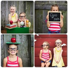 Back to school photo ideas instead of the same old one in the morning looking all tired.