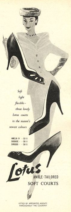Lotus shoes advert M