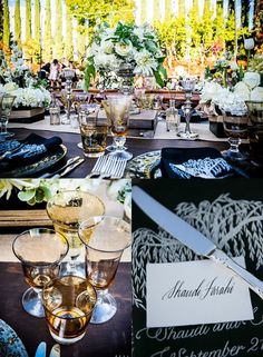 An Outdoor Wedding With Modern Elegance from Arrowood Photography