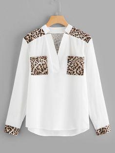 Ouneed® Sweatshirts ,Damen Schmetterling lange Hülsen Bluse