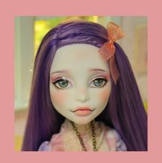 ANTHEA - OOAK custom repaint Monster High doll