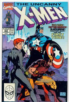 Uncanny X-Men #268 by Jim Lee