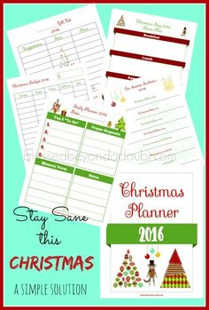 Have you missed the joy of the Christmas season since you were a child due to stress, impulse spending, and disorganization? You and me both!   I created this Christmas Countdown Planner for myself years ago and it has yet to fail me. Hurry while it's free!