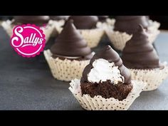 Sallys Rezepte - Schaumkuss-Muffins / Hi Hat Muffins