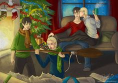 Merry Christmas Family by MicehellWDomination.deviantart.com on @DeviantArt