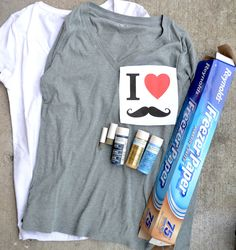 How to create your own stenciled tees