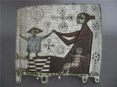Rut Bryk Art Corner, High Art, Mid Century Design, Wall Plaques, Ceramic Art, Kitsch, Sculptures, Porcelain, Pottery