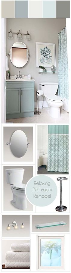 Not everyone has a large bathroom but it doesn't matter, what matters the most is cleanness, hygiene and how beautiful your bathroom is designed. A small bathroom can be designed to be attractive, unique, classic and spacious. Creative and easy | Bathroom