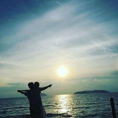 Instagram의 지승민님: #코타키나발루 #말레이시아#썬셋 #아재컷 #타이타닉 거의태교여행ㅋㅋㅋㅋㅋㅋㅋ