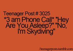 I'm not a teenager, but this still happens!