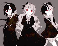 Bungou Stray Dogs chibis ◆ Kyouka, Elise and Yumeno - Q