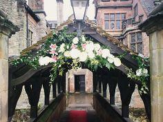 large flower arrangements for church | Wedding Flowers: Church Floral Displays