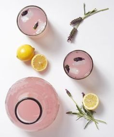 2 Lovely, Infused Lemonades For A True Taste Of Summer @Shannon Haynes for all that lavender!