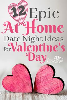 Oooh! I love celebrating Valentine's day at home with my husband! Why? Because we always have some epic at home date night ideas up our sleeves! 12 Epic At home Date Night Ideas for Valentine's Day Get stringy! Need to add some giggles to your marriage? T