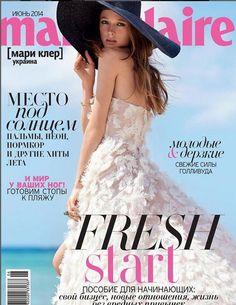 Marie Claire Ukraine June 2014 Cover (Marie Claire Ukraine)
