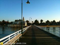 Kerferd Road Pier, Albert Park #CaptureTheCover entry - by Charlesin Melbourne's Inner City Northern Region. Click to enter your photos!