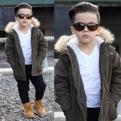Fresh haircut 👊🏼✂️ Have a great end of the week beautiful people ❤️ Cute Boy Outfits, Outfits Niños, Boys Summer Outfits, Little Boy Outfits, Baby Boy Outfits, Summer Clothes, Toddler Boy Fashion, Little Boy Fashion, Toddler Boy Outfits