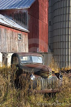 Old  Farm Truck. This is a truck  I just love and it is old but still so beautiful.