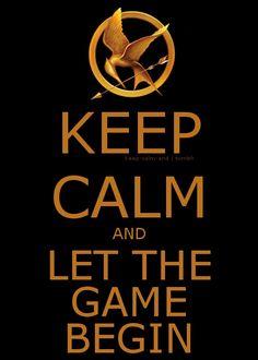 Hunger Games (Keep Calm Wisdom)