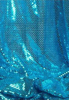 Metallic Blue Fabric Material
