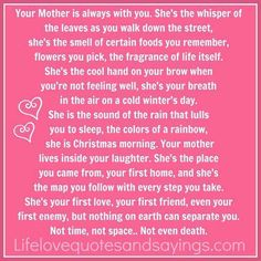 I really miss my mom tonight. Came across some old emails from when mom died. Notes of wonderful things that people said about mom. I Miss My Mom, I Love You Mom, Mom And Dad, Just For You, All That Matters, Family Matters, In Loving Memory, Mothers Love, Happy Mothers