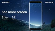 The revolutionary design of the Galaxy S8 and S8+ begins from the inside out. We rethought every part of the phone's layout to break through the confines of the smartphone screen. So all you see is pure content and no bezel. It's the biggest, most immersive screen on a Galaxy smartphone of this size. And it's easy to hold in one hand.http://www.samsung.com/in/smartphones/galaxy-s8