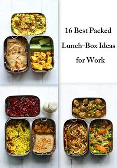 Looking for every day packed lunch ideas for work? We have got you covered with these 16 Best Packed Lunch Ideas. These tiffin ideas for adults are far from boring and packed with flavors from all over the world. funfoodfrolic.com