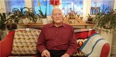 The War Veteran is as old as the Fatherland since he will turn 100 in May 2017.  http://finland100toronto.com/levi-backholm-a-war-veteran-celebrates-the-100-years-anniversary-of-independence-in-finland/