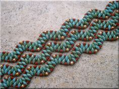 Karin's blog, sieraden crea's !: Twin beads... helemaal leuk !