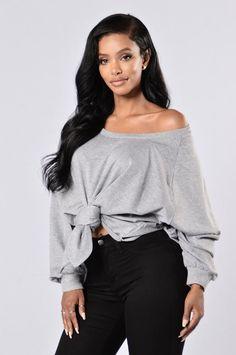 Street Style Sweater - Heather Grey