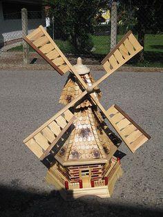 Working Garden Windmill Model Plan Hobbies Our Model Is