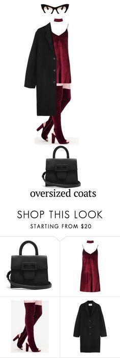 """Oversized Coat"" by bonolon on Polyvore featuring Maison Margiela, Boohoo, Acne Studios, Miu Miu and oversizedcoats"