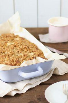 Eine kleine neue Kuchen-Entdeckung: Coffee-Cake mit Birne und Zimt.