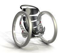 Wheelchair designed by Casper Schmitz