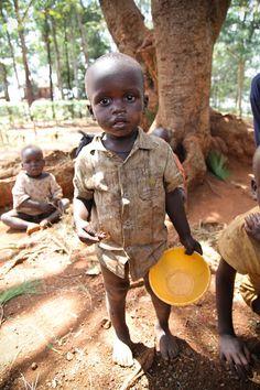Amazima Ministries International feeds thousands of Ugandan children all the time.