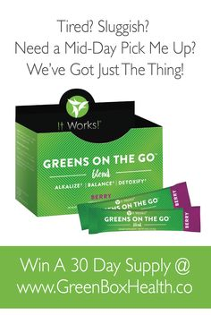 ItWorks – Greens On The Go