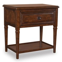 Whiskey 1 Drawer Nightstand