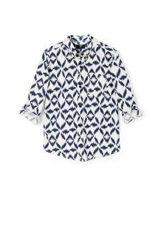 NEW - Ikat print shirt