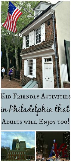 Here's a list of many kid friendly activities in Philadelphia, USA that adults will love too! Make sure you take a trip and see all of these fun and educational places in the City of Brotherly Love in your lifetime!