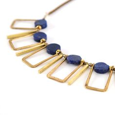 Cayucos Statement Necklace | Brit + Co. Shop - Creative products from makers you'll love.