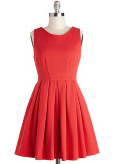 ModCloth Vintage Inspired Short Length Sleeveless A-line Cue the Compliments Dress