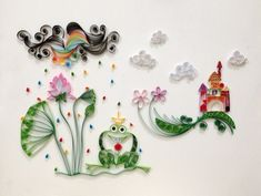 fairyland by Hyvoky Quilling Paper Craft, Quilling Craft, Quilling Designs, Paper Crafts, Quilling Ideas, Paper Lotus, Paw Patrol Characters, Craft Night, 3d Paper